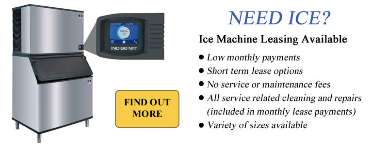 Ice Machine Leasing Available